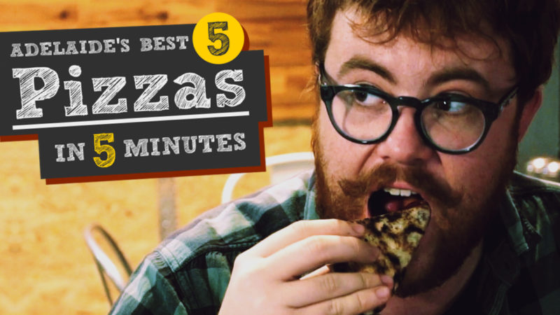 Adelaide's Best 5 Pizzas in 5 Minutes: Ready to Serve!