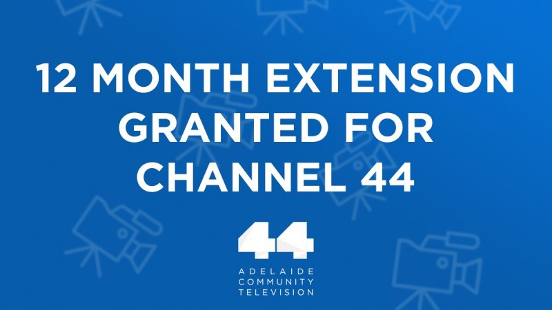 MEDIA RELEASE: Community Television Granted Reprieve in Final 24 Hours