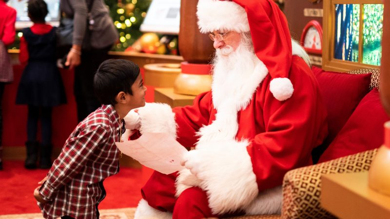 Where to visit Santa this Christmas