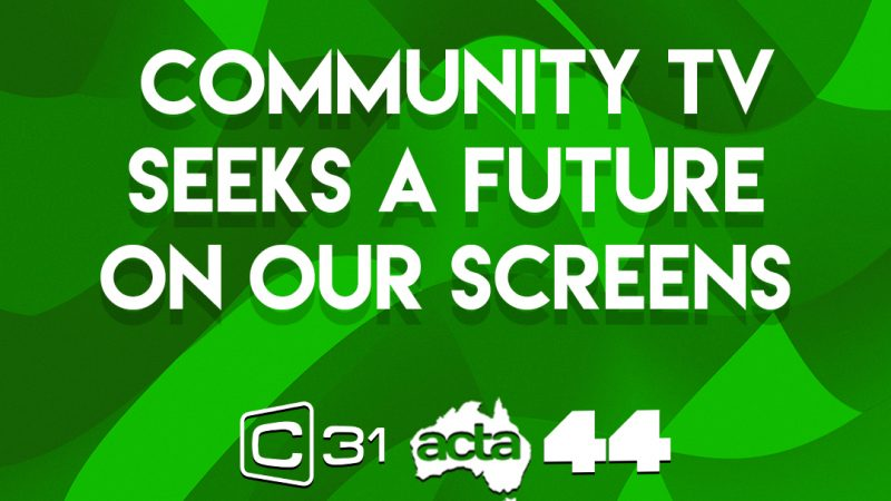 Community TV seeks a future on our screens