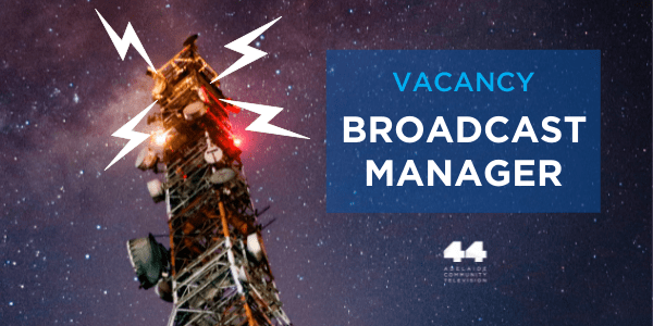 We're seeking a Broadcast Manager